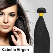 Extensiones cabello VIRGEN EN CORTINA 100% natural LISO REMY 50CM 95gr
