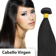 Extensiones cabello VIRGEN EN CORTINA 100% natural LISO REMY 60CM 95gr