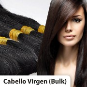 Extensiones cabello VIRGEN A PESO 100% natural LISO REMY 50CM 100gr