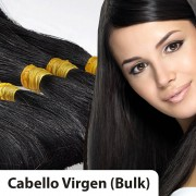 Extensiones cabello VIRGEN A PESO 100% natural LISO REMY 60CM 100gr