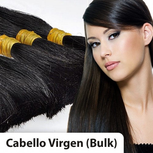 Extensiones cabello VIRGEN A PESO 100% natural LISO REMY 80CM 100gr