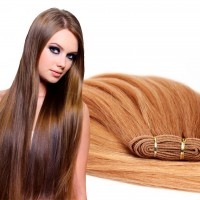 Extensiones CORTINA cabello 100% natural LISO REMY 50CM 75gr